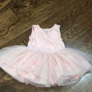 Old Navy soft pink tutu dress
